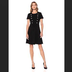 NWT IVANKA TRUMP Crest Button Dress